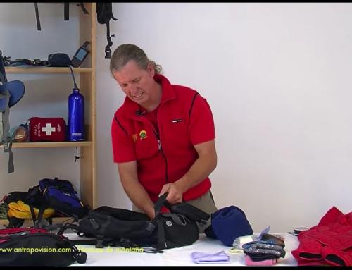 Preparar la mochila para una salida de un día de senderismo